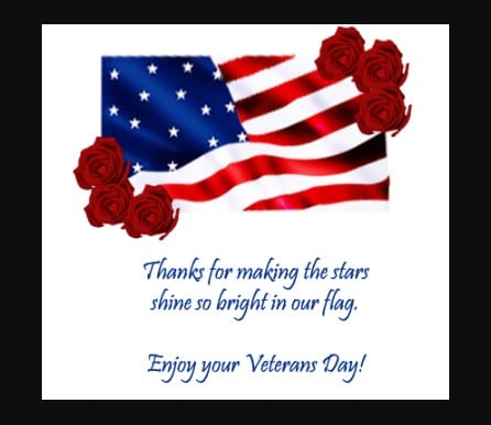 Happy Veterans Day 2021 Cards
