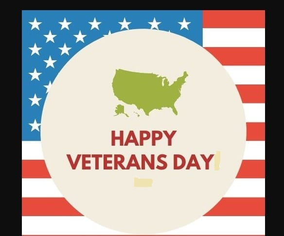 Happy Veterans Day 2021 Picture word